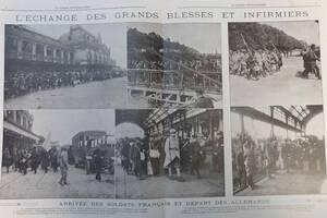 Flux de soldats français et allemands dans le périmètre des Brotteaux | Source Unmondedepapiers.com